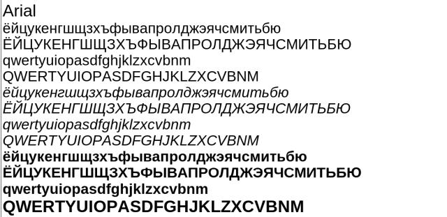 Шрифты в Иксах: три года спустя