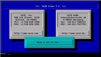 SuSE Linux 7.1. Впечатления пользователя других дистрибутивов