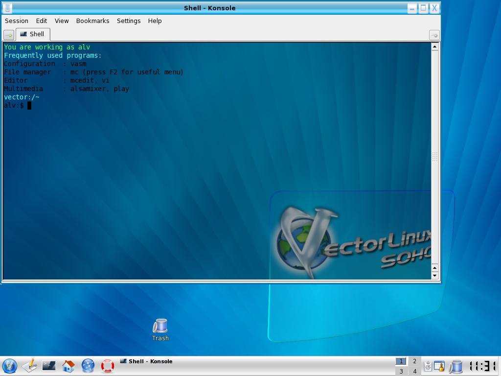 Vector Linux: один из эпигонов Slackware