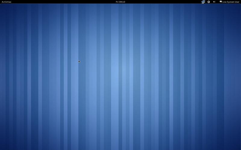 Fedora 15 alpha и GNOME Shell