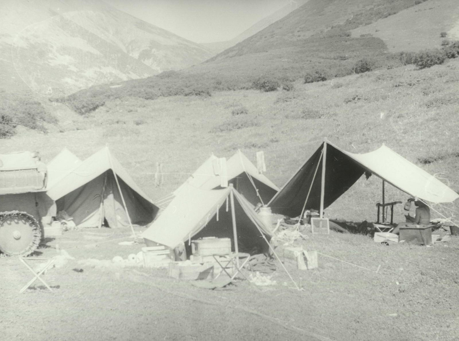 Олюторский хребет, сезон 1981 года