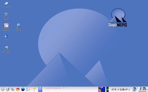 MEPIS, или Linux под сенью пирамид